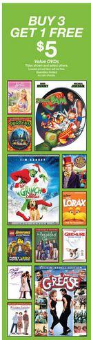 target dvds