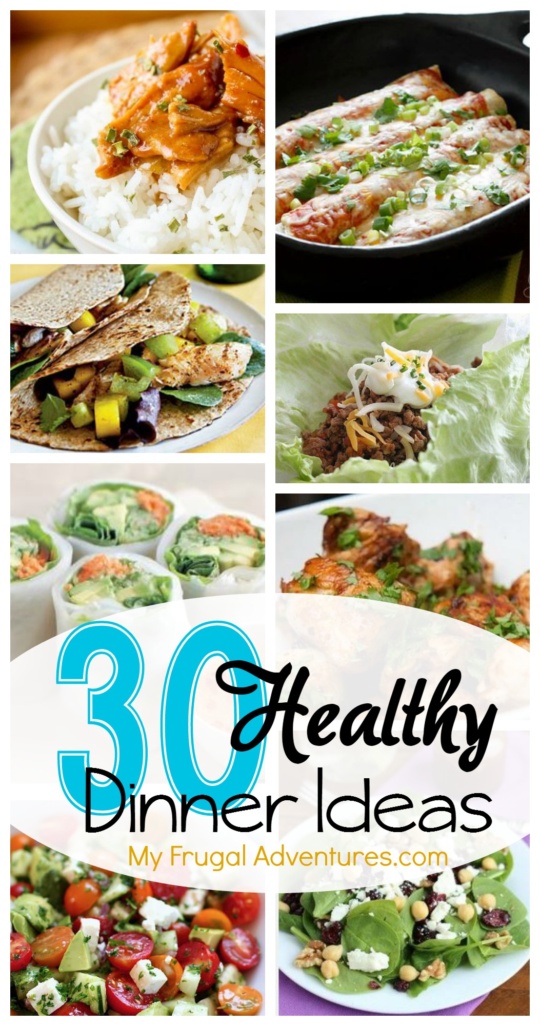 30 healthy dinner ideas my frugal adventures