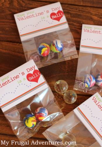 Free printable noncandy Valentine's