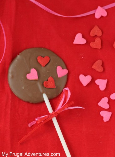 Homemade Chocolate Lollipops