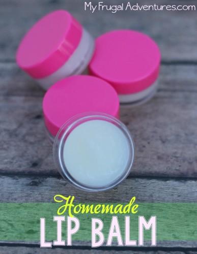 Moisturizing Homemade Lip Balm