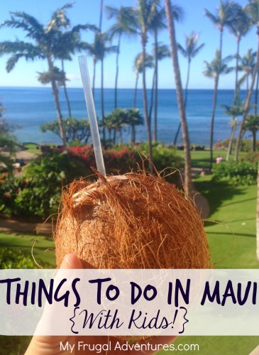 Things to do in Maui on myfrugaladventures.com