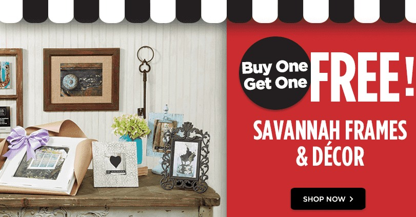 i noticed michaels has buy one get one free savannah frames and decor this week this is a beautiful line if you have