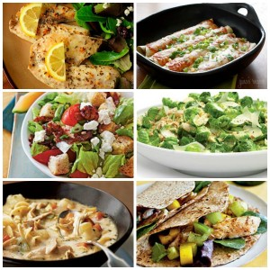 30 Healthy Dinner Ideas