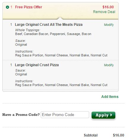 graphic regarding Papa Johns Printable Coupons titled Papa Johns Coupon Code: Obtain Just one Just take Just one Totally free Pizza - My