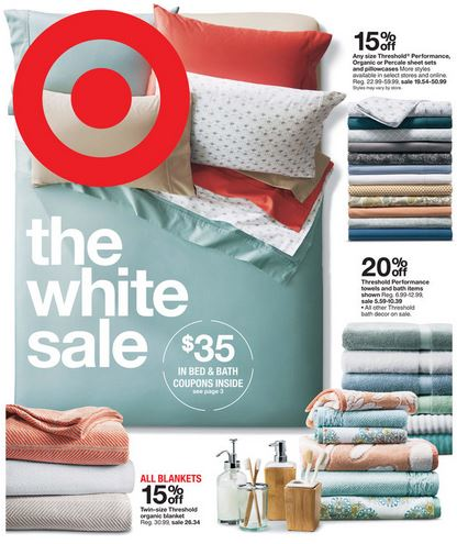 Cute There is a nice sale at Target this week on bedding and bath plus there are some great coupons you can use