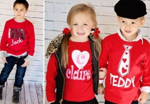 Custom Valentine S Day Shirt For Kids 13 50 My Frugal Adventures