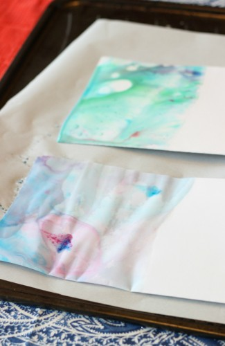 Milk Painting for Kids - so easy and so fun!