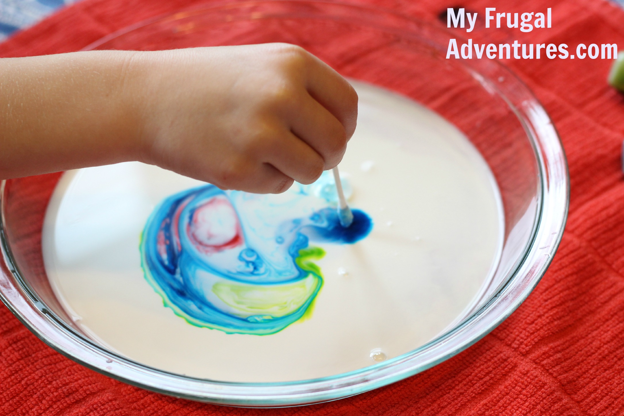 Easy Milk Paint Craft for Kids - My Frugal Adventures