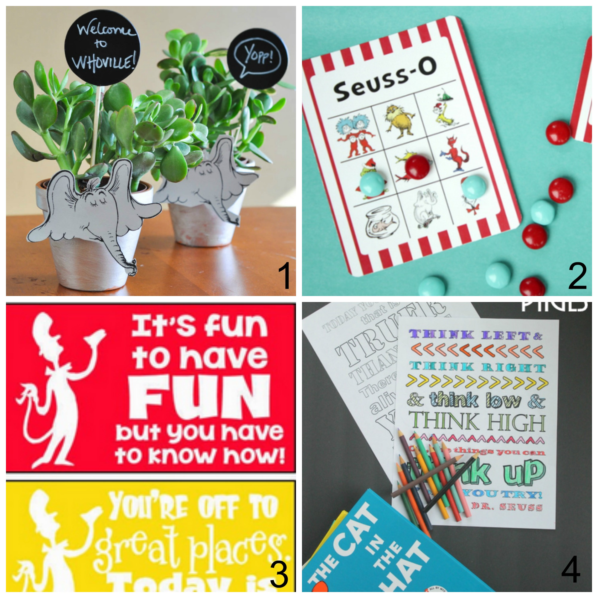 picture relating to Truffula Seeds Printable named 25 Entertaining Dr. Seuss Snacks and Crafts Suitable for Birthday or