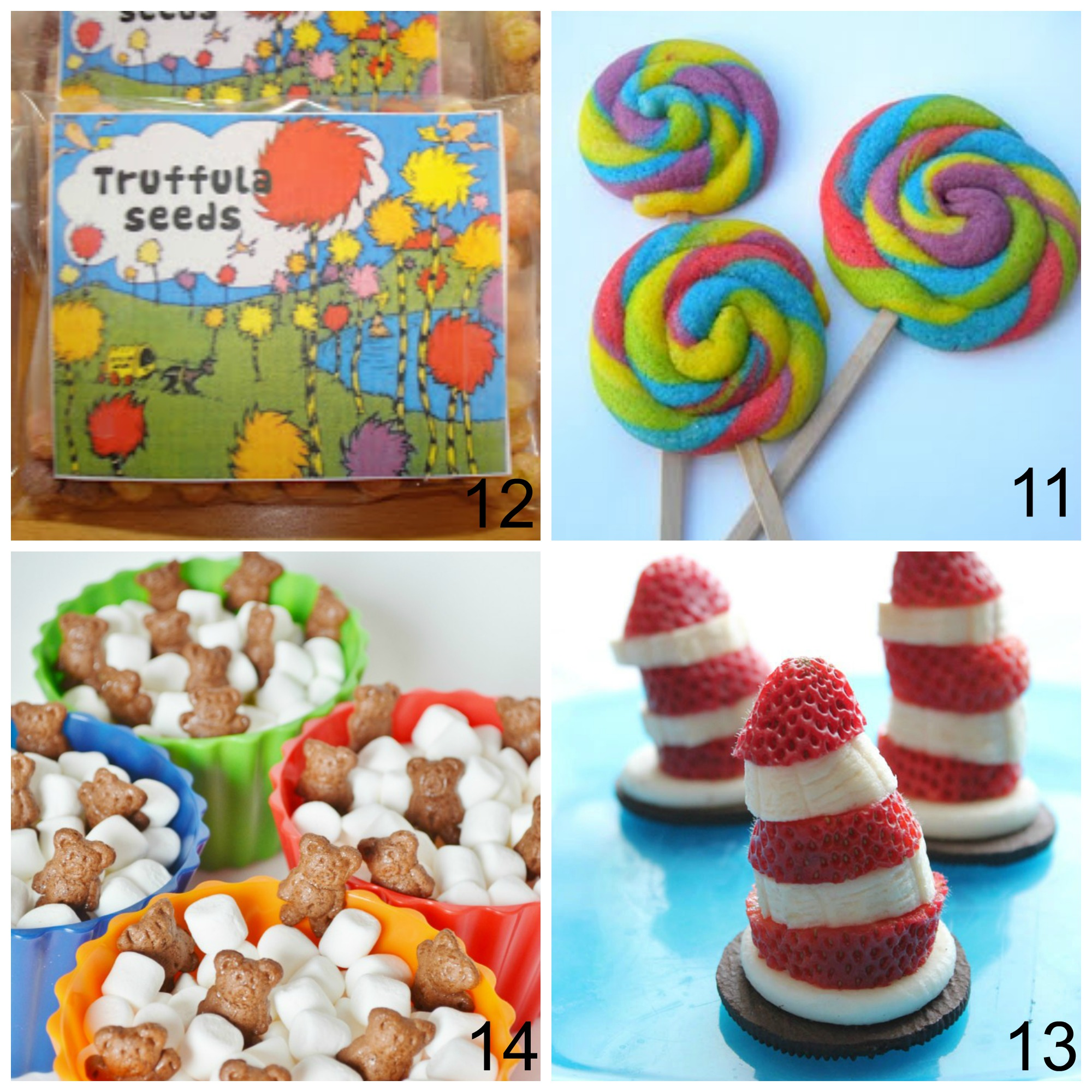 graphic relating to Truffula Seeds Printable titled 25 Enjoyable Dr. Seuss Snacks and Crafts Excellent for Birthday or