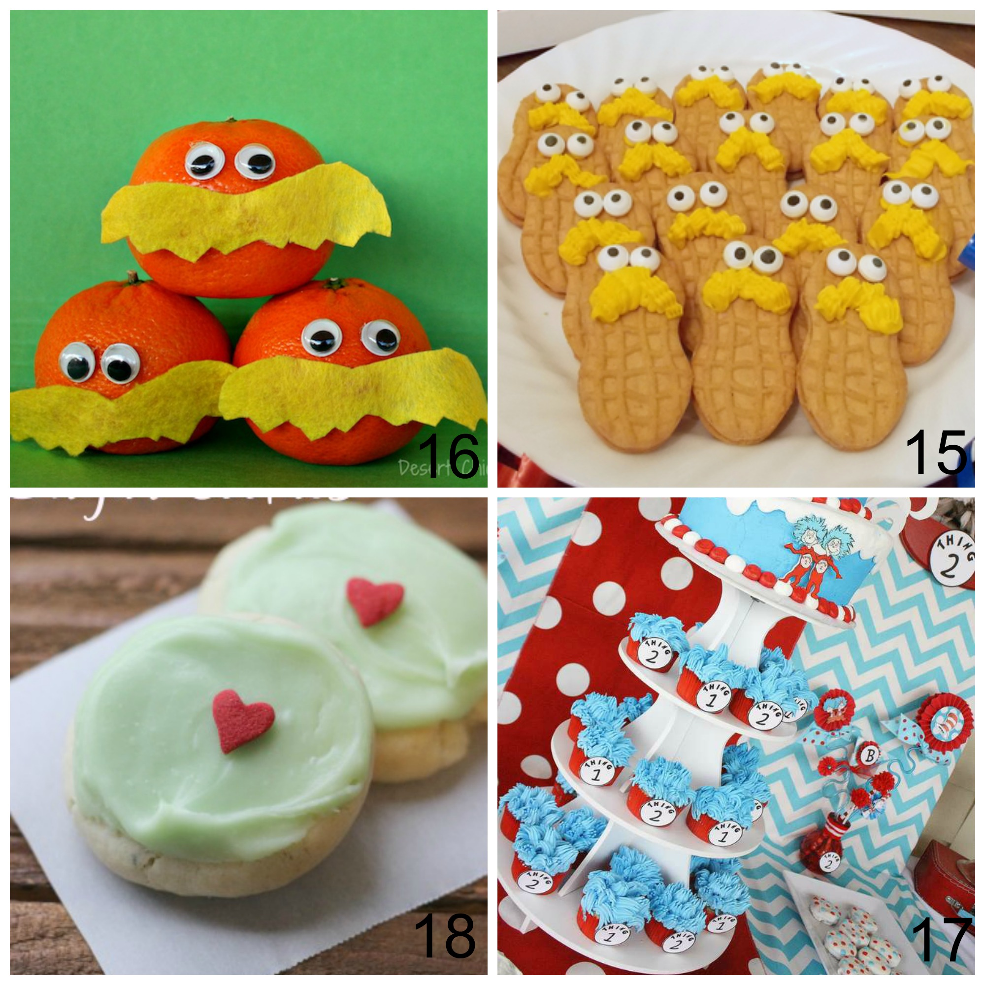 photograph relating to Truffula Seeds Printable named 25 Enjoyable Dr. Seuss Snacks and Crafts Ideal for Birthday or