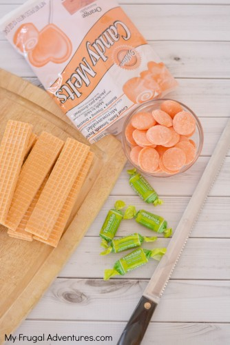 Carrot Wafer Treats for Easter