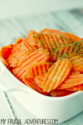 Glazed Dill Carrots