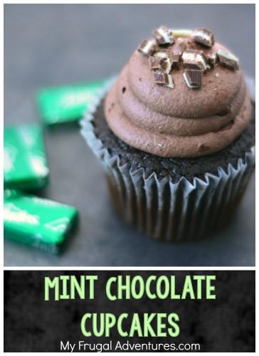 Mint chocolate Cupcakes PIN
