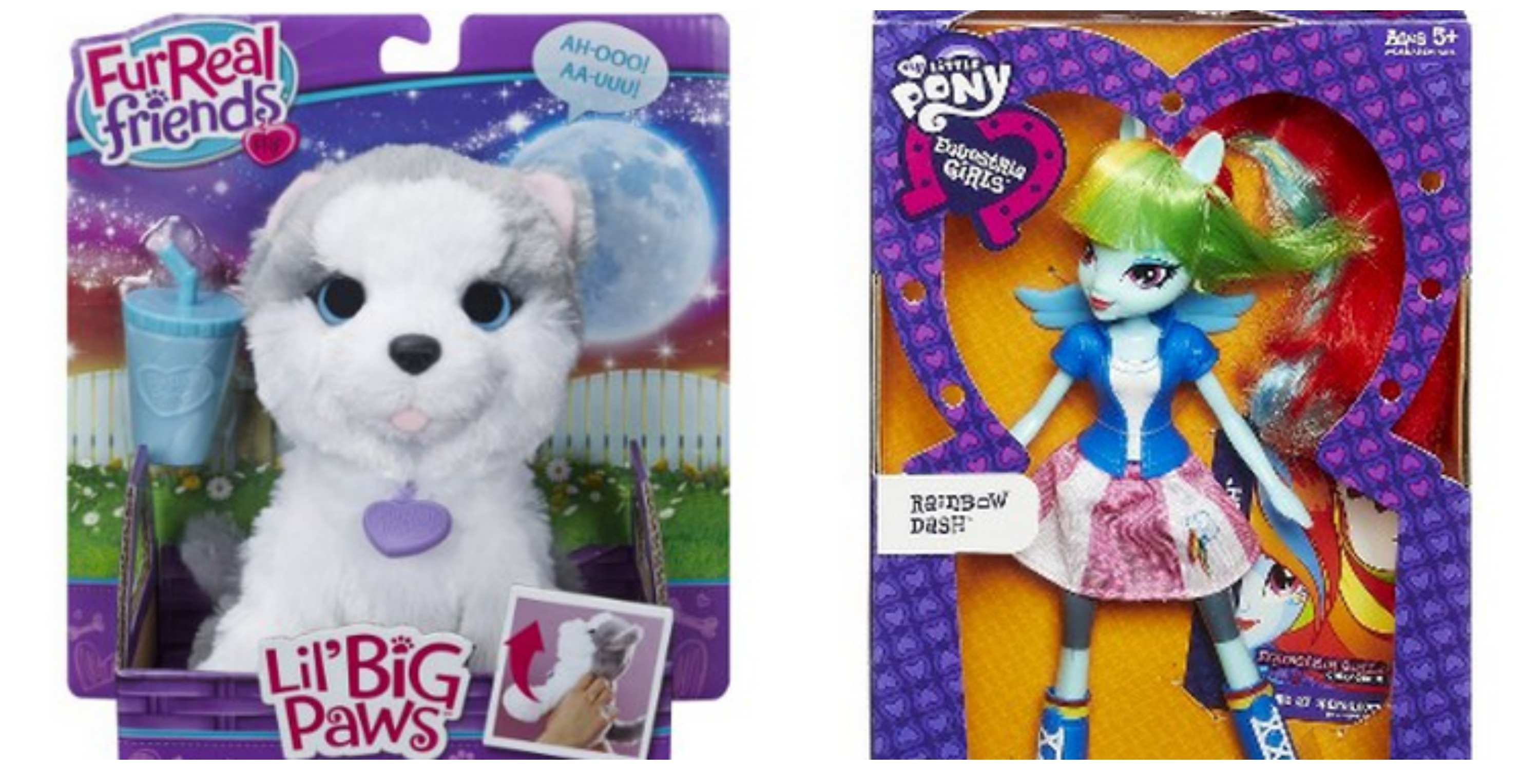 Target: FurReal Pets and Equestria Dolls as low as $3 - My