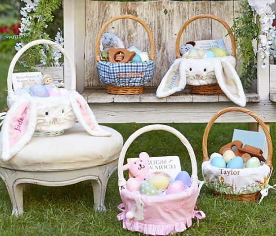 pottery barn easter baskets and liners 20 off my frugal adventures. Black Bedroom Furniture Sets. Home Design Ideas