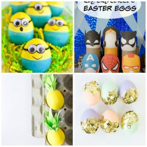20 Fun Easter Egg Ideas  sc 1 st  My Frugal Adventures & 20 FUN Easter Egg Decorating Ideas - My Frugal Adventures