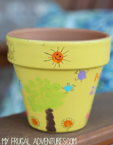 thumbprint pot