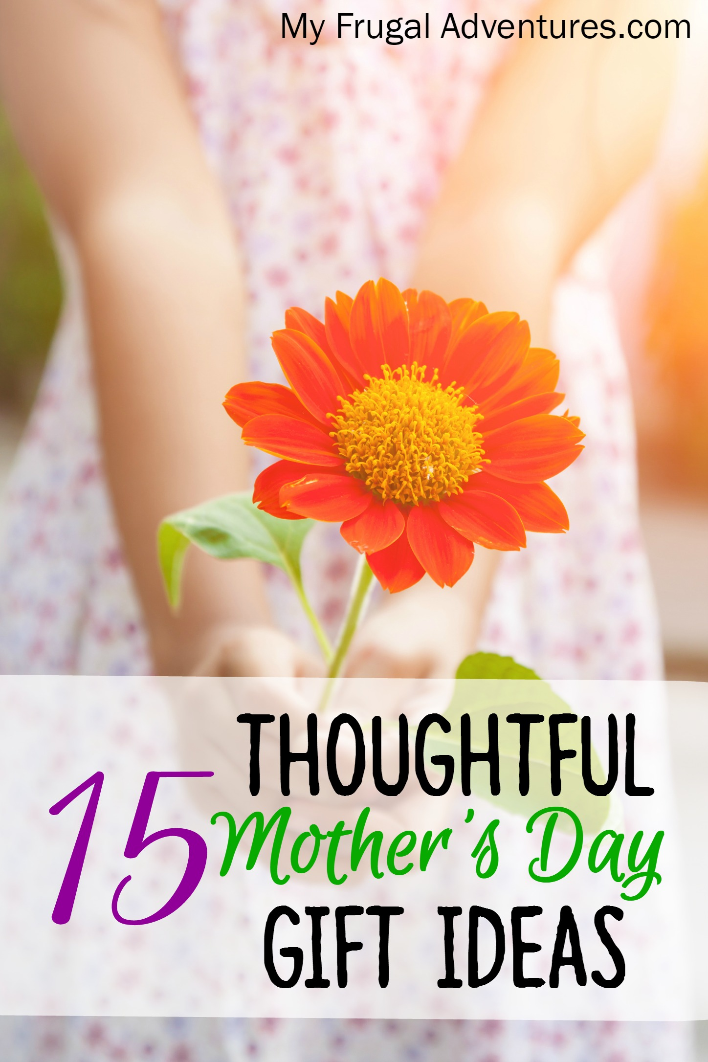 15 Thoughtful Motheru0027s Day Gift Ideas & 15 Thoughtful Motheru0027s Day Gift Ideas - My Frugal Adventures