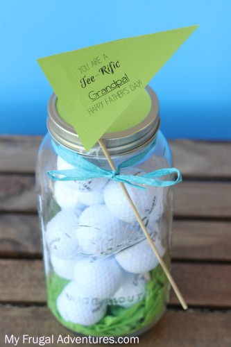 Golf Gift Basket {Teacher Appreciation Gift or Father's Day Gift}