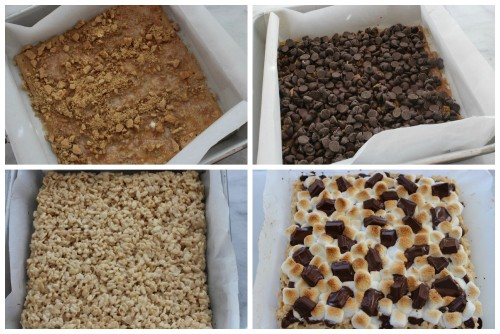 Smores Krispies Treats