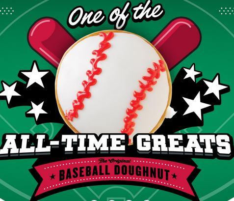baseball donut