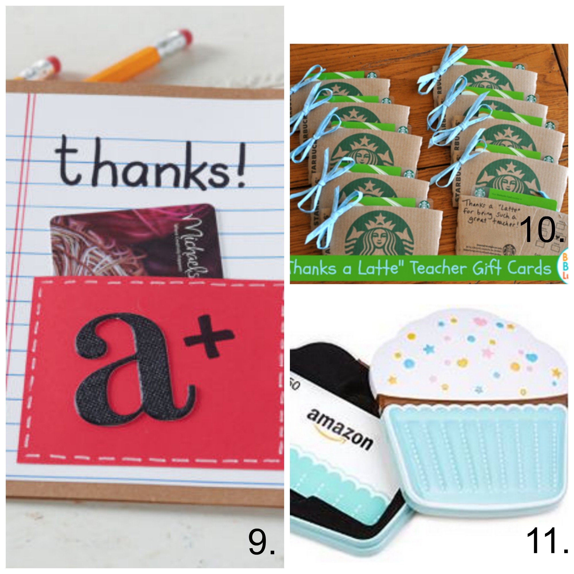 photograph relating to Barnes and Noble Printable Gift Card named 25 Astounding Instructor Appreciation Reward Strategies - My Frugal