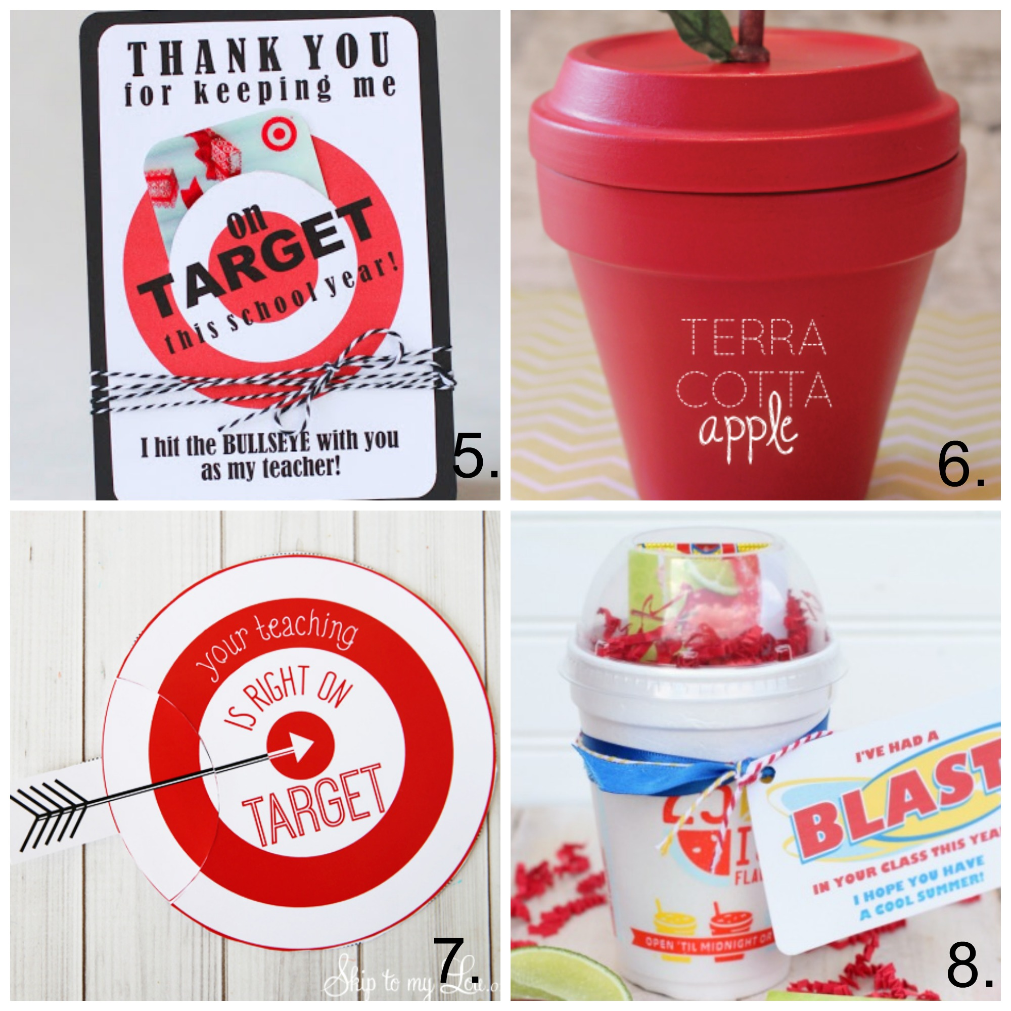 25 Awesome Teacher Appreciation Gift Ideas - My Frugal Adventures