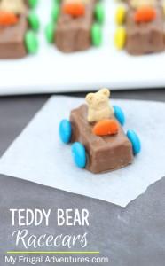 Teddy Bear Racecars