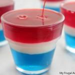 patriotic cups of jello