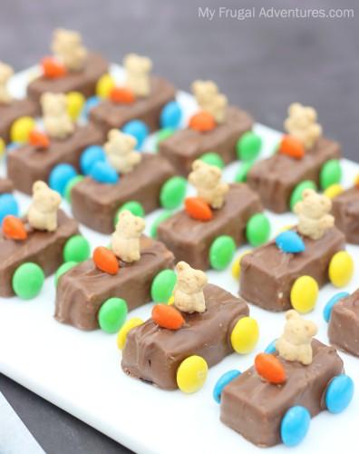 Teddy Bear Race Car Snacks