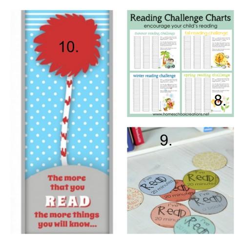 Free summer reading logs for kids