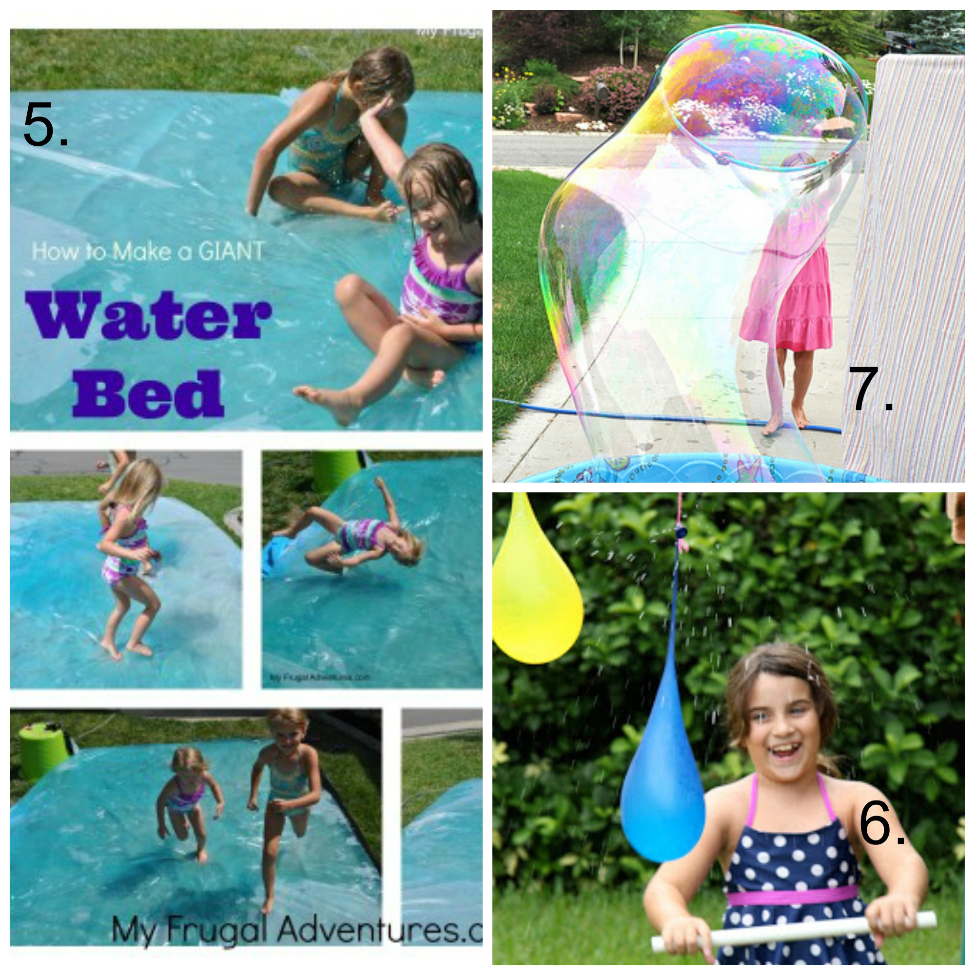 Fun Outdoor Water Activities for Kids My Frugal Adventures