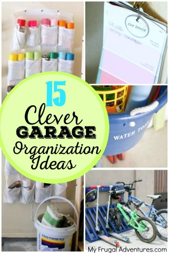 15 Clever Garage Organization Ideas