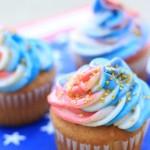 Patriotic Swirl Cupcakes Recipe