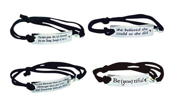 You Can Order One Of These Inspirational Bracelets For 8 50 Today Shipping Is Free