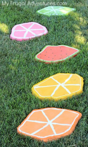 painted stepping stones 2