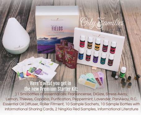 essential oils gift baskets