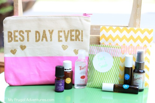 essential oils gift baskets