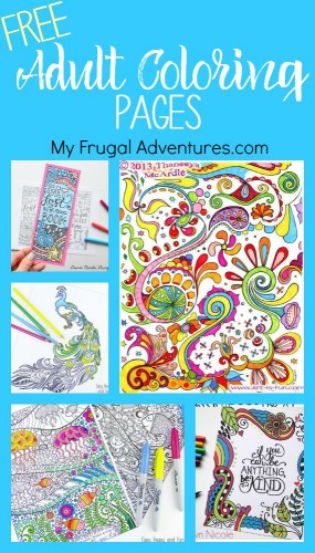free adult coloring pages - Dollar Tree Coloring Books