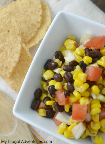 Fresh Corn and Black Bean Salsa Recipe