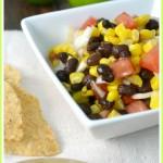 Fresh Corn and Black Bean Salsa Recipe