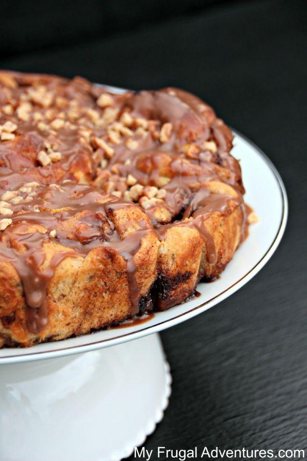 Gooey Chocolate Cinnamon Rolls Recipe