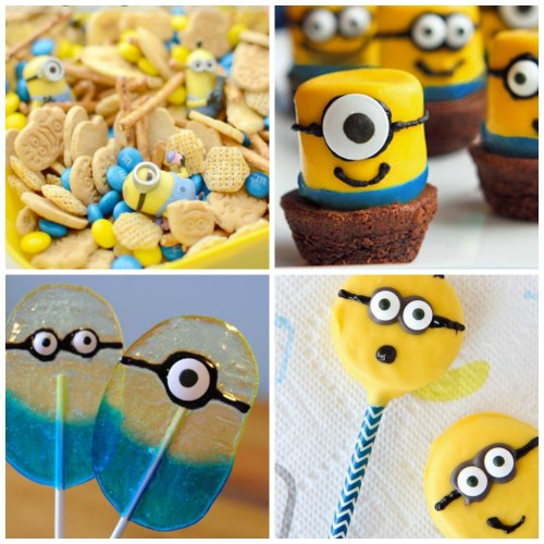 20 Minion Crafts and Treats {Perfect for Minion Parties}
