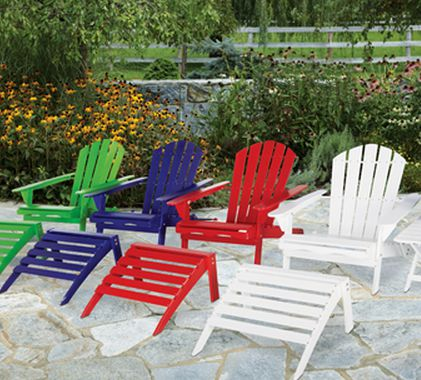 There Is A Nice Deal From Ace Hardware. You Can Get A Free Ottoman When You  Purchase An Adirondack Chair For $59.99. Thatu0027s A Great Price For Both!