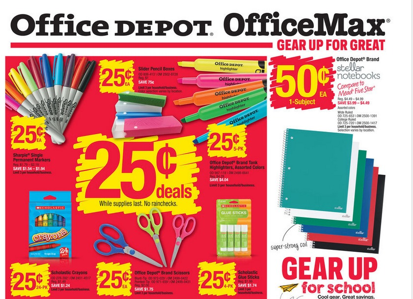 Staples office maxoffice depot deals 712 718 my frugal adventures officemax reheart Gallery