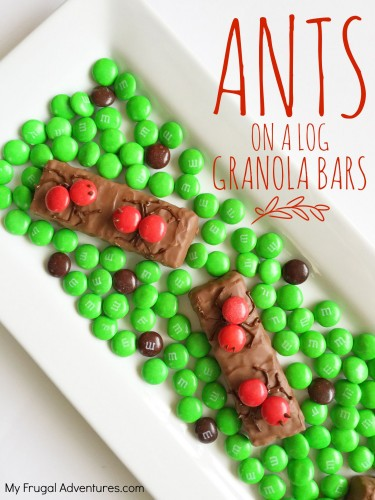 Ants on a Log Fun Children's Snack