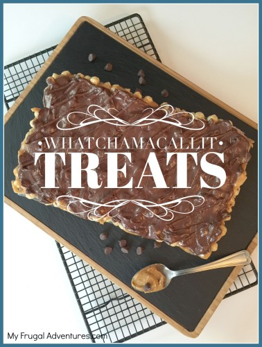 Homemade Whatchamacallit Treats