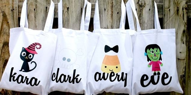 Custom Halloween Tote Bags $11 Shipped - My Frugal Adventures